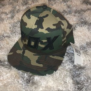 Camo Fox hat new with tags
